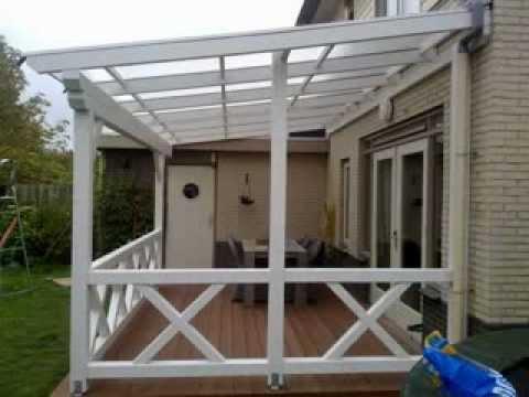 Terrasoverkapping hoe bouw ik zelf een douglas veranda doovi - Hoe een overdekt terras te bouwen ...