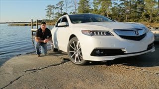 2015 Acura TLX - A new model in a highly competitive segment