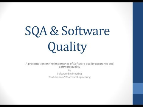 software quality assurance tutorial in Urdu / Hindi