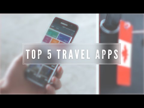 Top 5 Travel Apps!