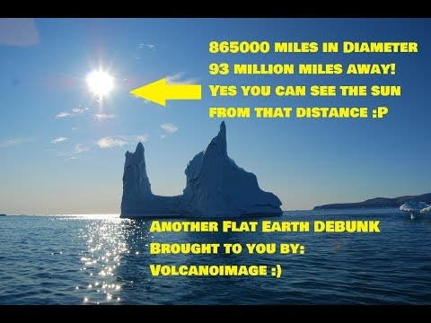 DEBUNKING Flat Earth Claim That If the Sun Is 93 Million Miles Away You Couldn't See It thumbnail