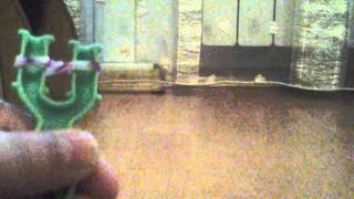 Урок 2 Как плести браслет Тротуар из резинок