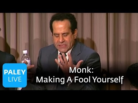 Monk - Trusting The Writers And Making A Fool Of Oneself (Paley Center)