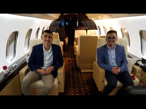 Flying To Nice on a Private Jet