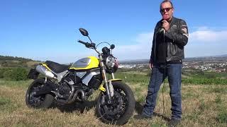 Raumschiff Enterprise - Ducati 1100 Scrambler 2018 - Zonkos Sicht