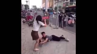 Desperate Man Drags Down Ex-girlfriend