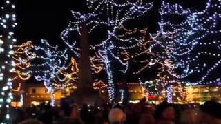 Tree lighting on the Plaza in Santa Fe, NM 2014! Thumbnail