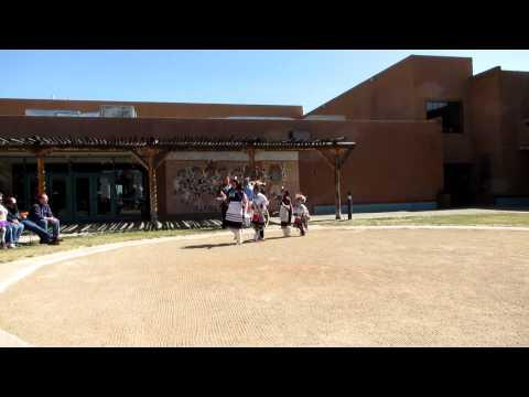 Native American Dancers In Albuquerque, New Mexico
