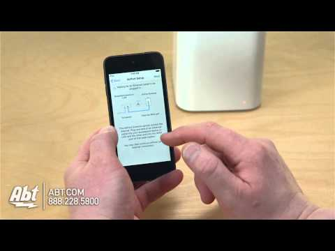 hook up airport express to airport extreme