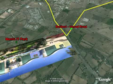 Location Walkthrough of Fortune Nagpur, Vastuland Realtors Pvt. Ltd.