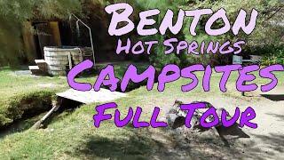 Benton Hot Springs Campsites Tour