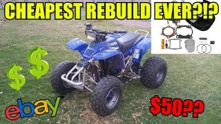 Can You Rebuild a Quad for Under $50?!?