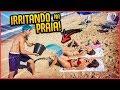 CRIANÇA VS ADOLESCENTE NA PRAIA - Muita Diversão - YouTube