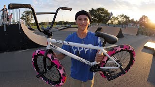 MY CRAZY NEW BMX SETUP