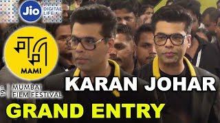 Karan Johar Grand Entry At Jio Mami Movie Mela | 19th Mumbai Film Festival