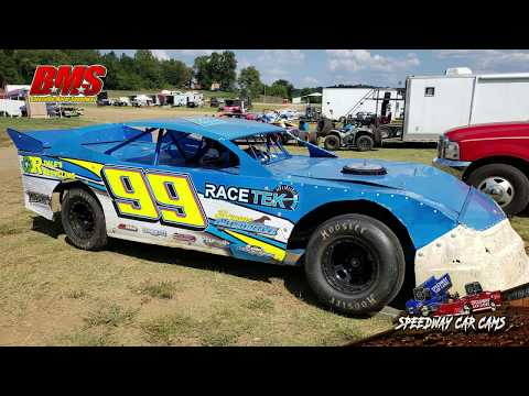 #99 Bryan Fortner - Street Stock - 9-15-18 Batesville Motor Speedway - In Car Camera