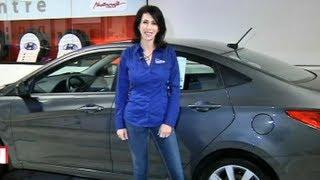2013 Hyundai Accent Expert Car Review by Lauren Fix