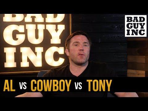 Al Iaquinta vs Cowboy Cerrone vs Tony Ferguson