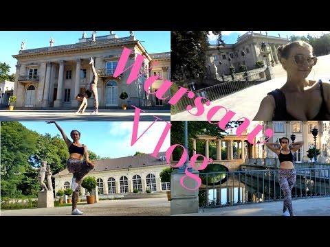 Warsaw dancing vlog   Sexy girl dancing in the park