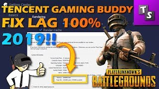 How to Completely Fix Lag in Tencent Gaming Buddy - 2019 - PUBG  - Updated - For Low End PC 🔥🔥