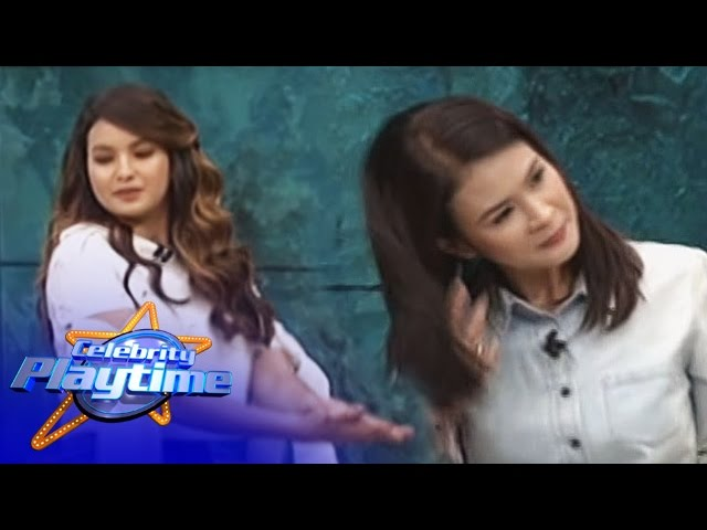 Celebrity Playtime: Sarah and Gelli's dance showdown
