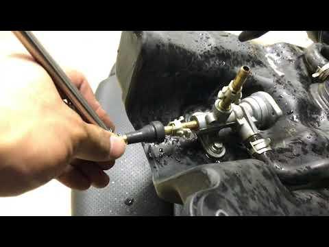 Suzuki LTR450 how to test fuel pressure regulator FPR