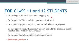 NEET UG: Timetable for Pre - Medical Examination