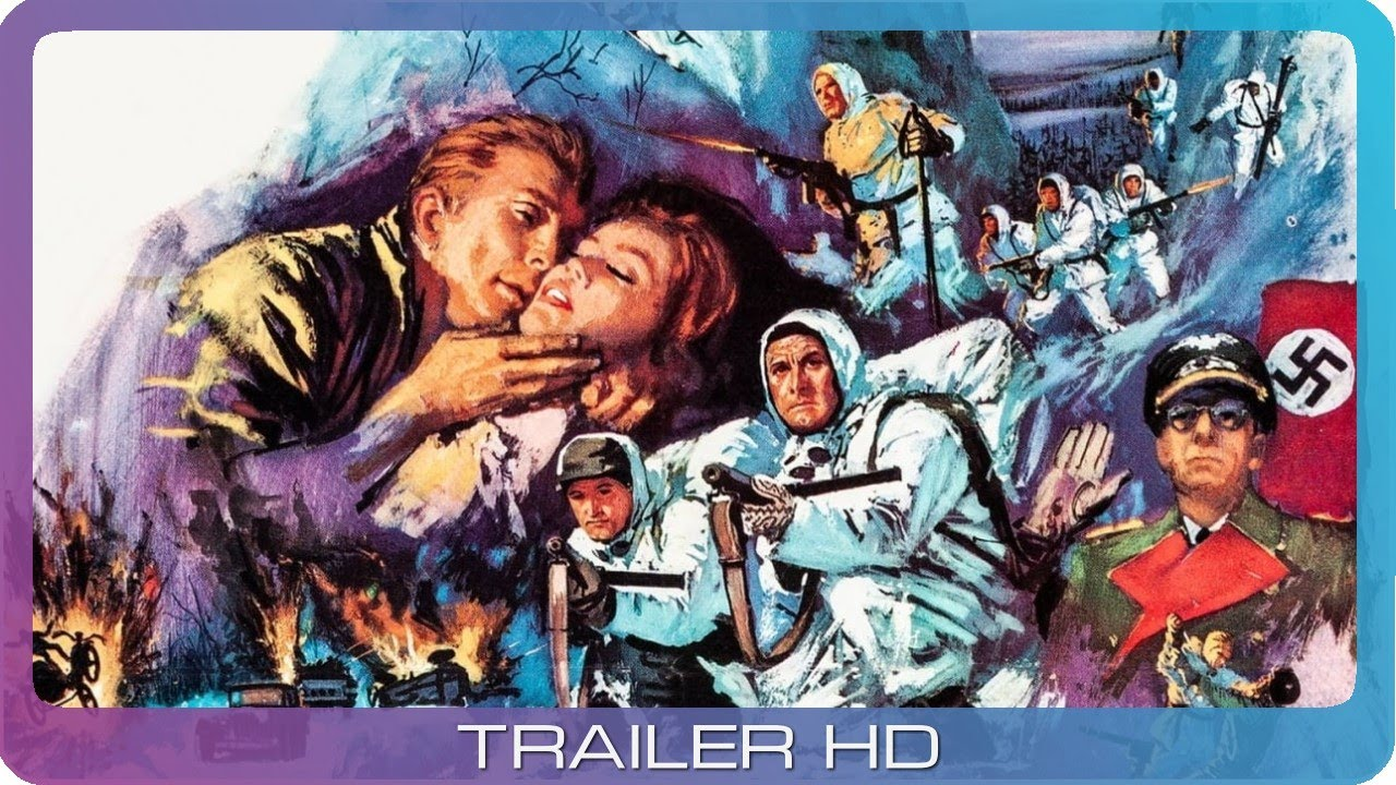 War Movie : The Heroes of Telemark 1965 ( Full Movie )