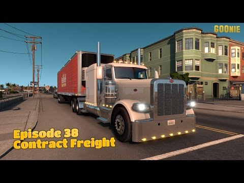 American Truck Simulator Ep38 - Contract Freight