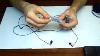Огляд арматурних навушників SONY XBA-1 by Artem Kapelyukha
