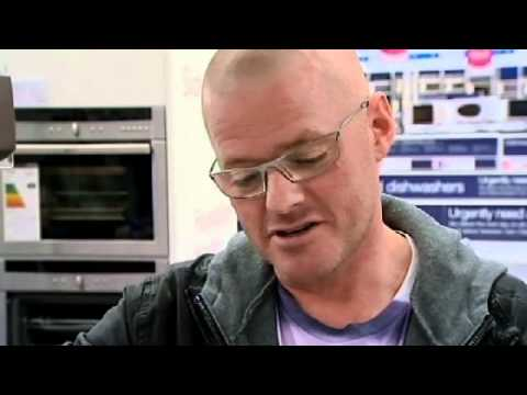 Heston Blumenthal tries microwave cookery