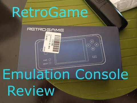 RS-97 Retrogame emulation handheld console review