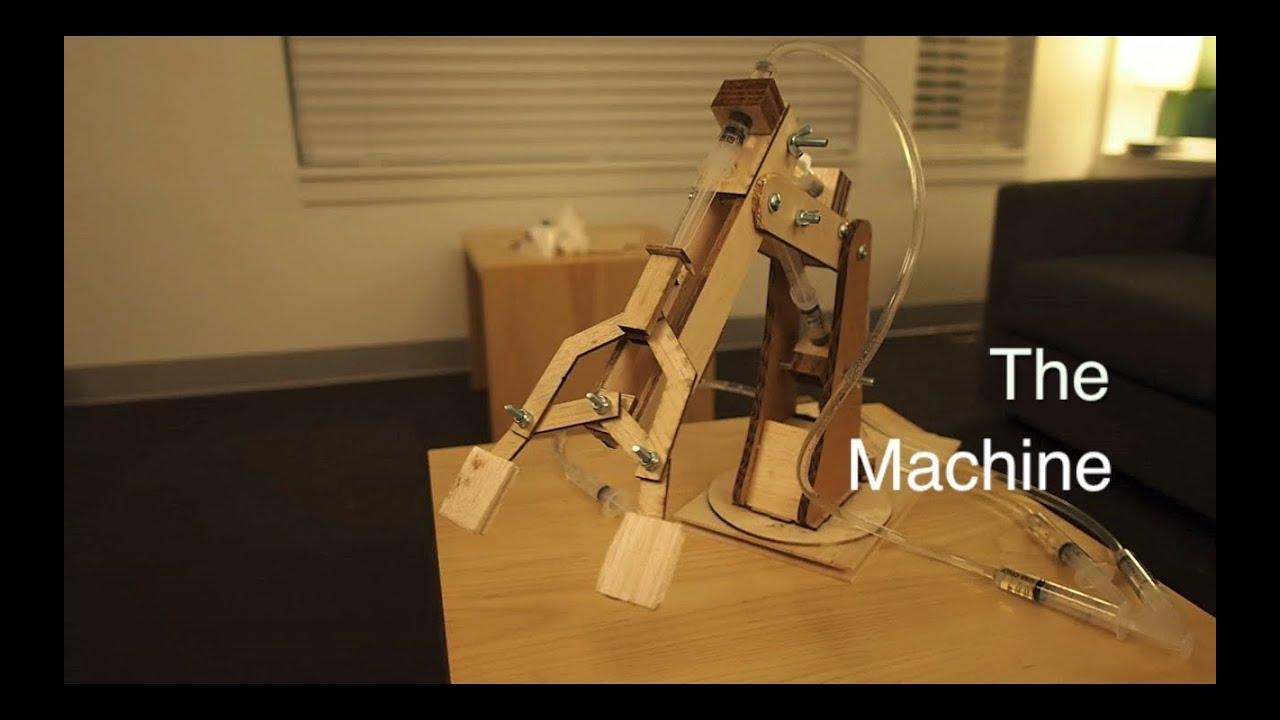Engineering Mechanical Arm Syringe : Syringe mechanical arm me youtube