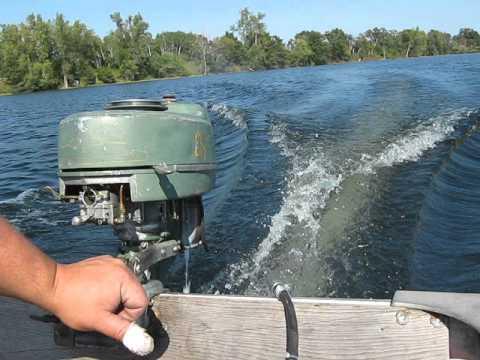 Elgin 5hp Outboard Motor Youtube