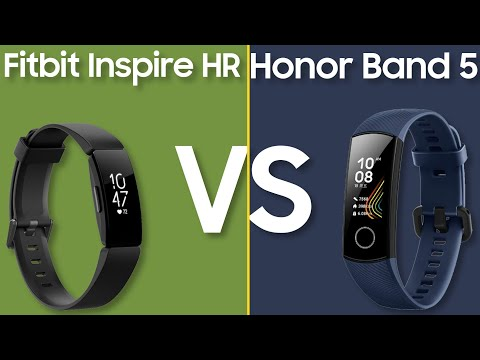 Honor Band 5 vs Fitbit Inspire HR - Budget Fitness Tracker Comparison
