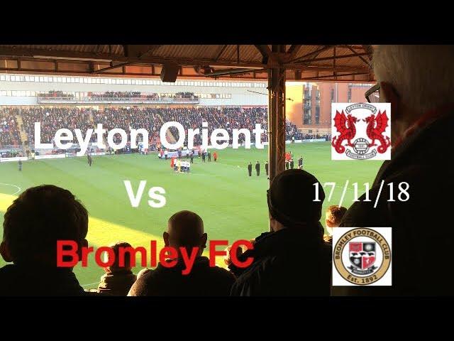 43c5ab75e4e2 Leyton Orient vs Bromley FC Highlights Goals Fans 17 11 18. 2.1K views. 3 months  ago