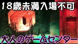 神奈川県川崎にある18歳未満入場禁止のゲームセンターに行ってきました...