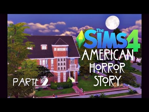 American Horror Story - MURDER HOUSE (PARTE 2) │ The Sims 4 (Speed Build)