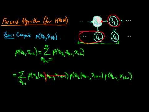 (ML 14.7) Forward algorithm (part 1)