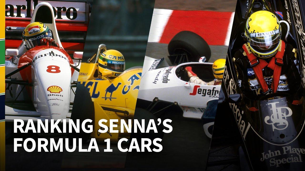 Ranking all of Ayrton Senna's Formula 1 cars