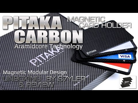 Pitaka Carbon Aramidcore Review Magnetic Card Holder With Modular Design By S7yler