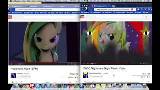 Repeat youtube video Nightmare Night SFM & PMV Comparison
