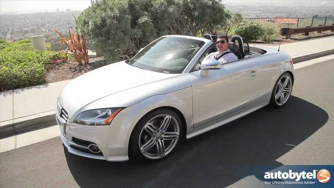 2012 Audi Tts Test Drive Amp Convertible Car Review Youtube