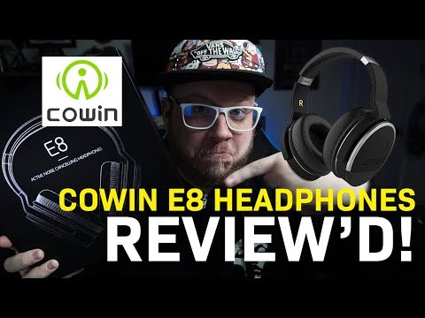 BOSE and BEATS Killers? Cowin E8 Bluetooth Over-the-Ear Active Noise Cancelling Headphones