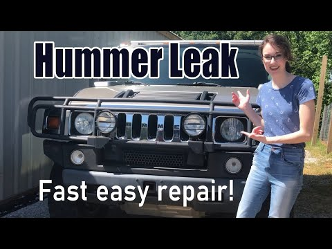 How to Leak-Proof your Hummer H2