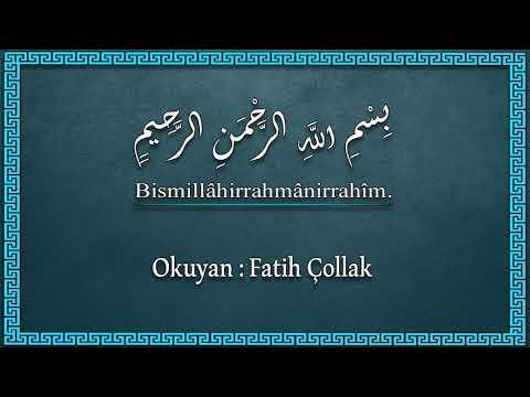 Fatih Çollak - 595.Sayfa - Leyl Suresi (1-21) / Duhâ Suresi (1-3)