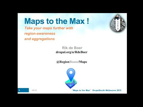 Maps to the max, take your maps further with region awareness and aggregations