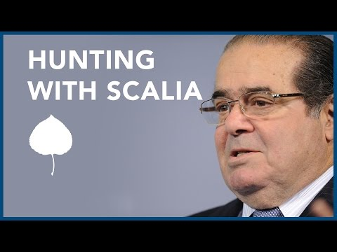 Hunting with Justice Scalia: Justice Kagan