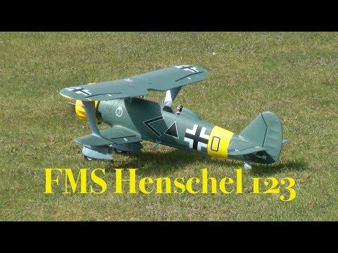 FMS Henschel 123 - Maiden Flight
