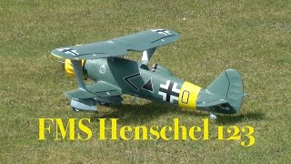 FMS Henschel 123 - Maiden Flight